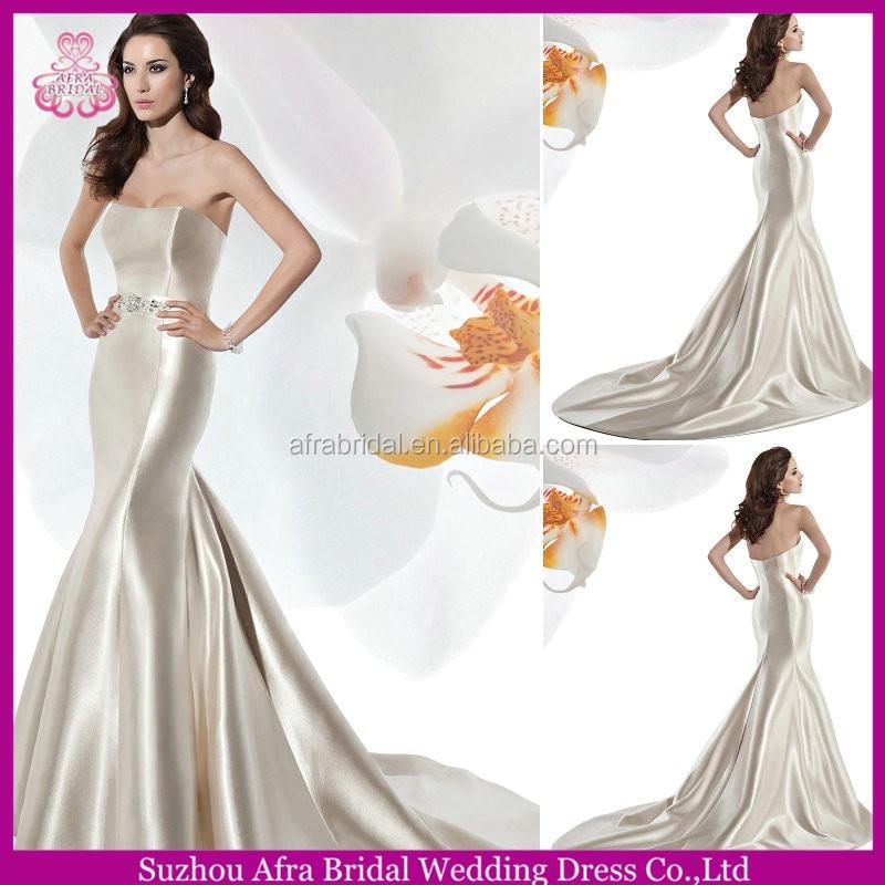 Affordable High Quality Custom Wedding Dress by