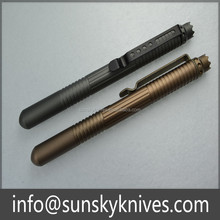 Women Self Defense tactical pen for breaking glass and writing on stone
