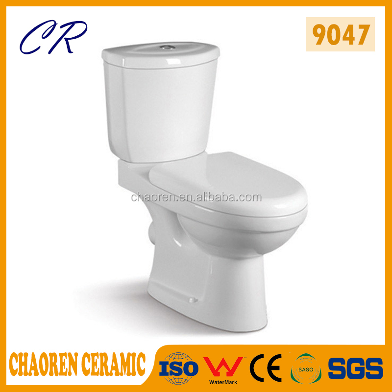 Sanitary Ware Washdown Watermark Two Piece Toilet china suppliers