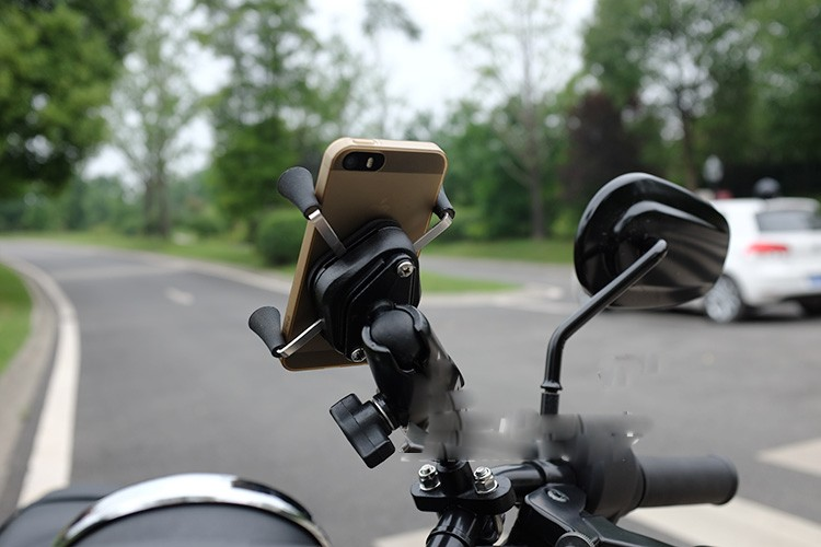 Motorcycle/bike mobile phone holder for phone gps