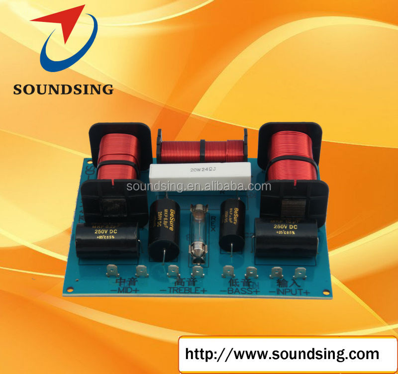 high quality three way passive crossover (SD-3006A)