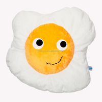 Funny mini plush toy chicken egg with good quality