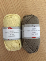 hand wholesalers knitting yarns cotton mercerized cotton gorgeous color