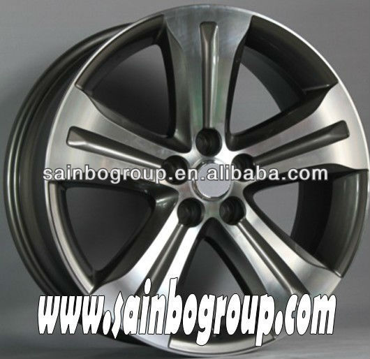beautiful surface alloy wheel
