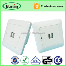 Universal USB Wall Socket 240v