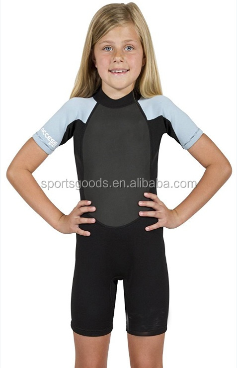 Factory sale one piece neoprene surfing suit swimming wet suits for boys