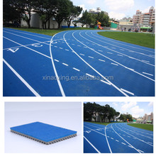 IAAF Approved Prefabricated Rubber Runway Track Surface for track and field stadium construction