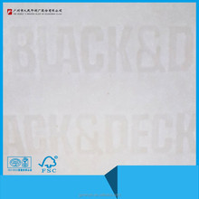 Watermark security paper custom printing in Guangzhou, China
