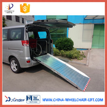 aluminium ladder Aluminum ramp Manual ramp for wheelchair user