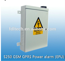 top GSM/GPRS Power Facility Alarm outdoor security protection FDL-S250 the panel will alert the owner immediately by SMS/phone c