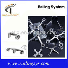 stainless steel glass fittings/spider