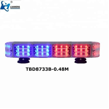 New fashion led Light bars Led Emergency Warning Lightbar for cop car fire truck anbulance car