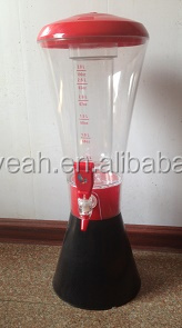 BEER DISPENSER WITH LIGHT OR MEASURE SCALE and High quality EY-D39