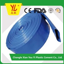 Agriculture irrigation heavy duty PVC Fabric Layflat hose/pipe (Bulk)