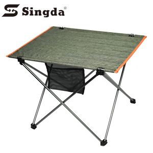 Outdoor picnic party dining lightweight portable high quality aluminum folding camp table