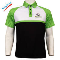 100 Polyester Customized Polo Shirts With