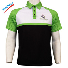 100%polyester customized polo shirts with OEM brands/logos