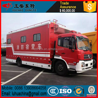 China manufacture water tower fire truck high quality used fire fighting trucks good price fire rescue truck
