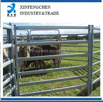 Hot dipped galvanized cattle panels/fence