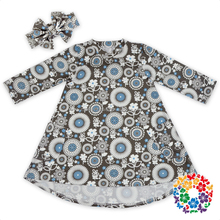 Long Sleeve Kids Beautiful Model Dresses Children Frocks Designs For Teenagers Pictures