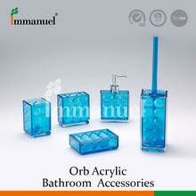 Hot Selling Quality Blue Bathroom Accessory Sets