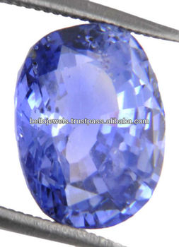 4.56 ct IGLI Certified Oval Cut Natural Blue Sapphire(Neelam) Gemstone