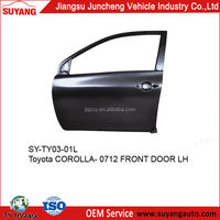 TOYOTA COROLLA 07-12 FRONT DOOR CAR BROKEN DOOR PANEL REPAIRING