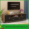 Modern MDF particle board cheap simple living room furniture led tv stand