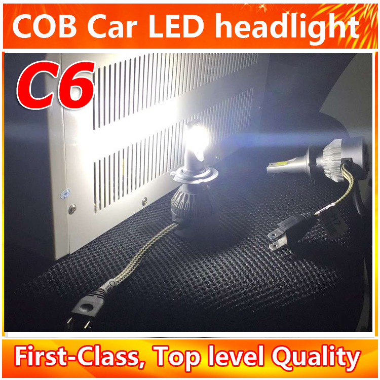2016 The Most Popular Selling Products Factory Price H7 LED Driving Head Light Car Top Quality