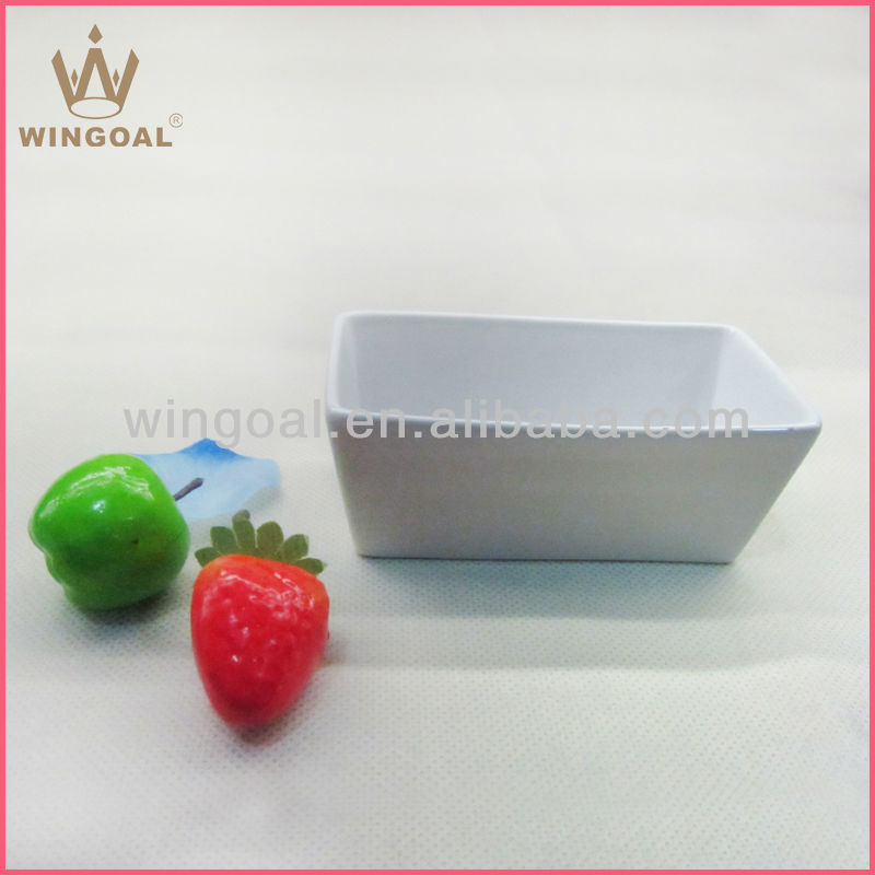 2013 new design porcelain rectangle plate