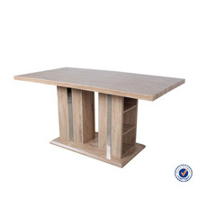 popular style modern wooden dining table MDF wood furniture
