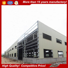 low cost prefab factory building steel structure shed