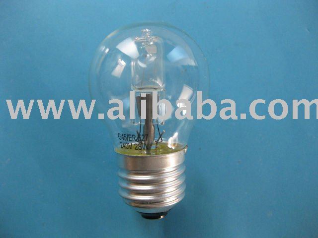 G45 Energy saving halogen bulb/ halogen incandescent lamp