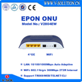 4GE+WiFi EPON ONU with CE Certification for FTTH Network Solution