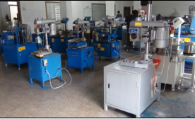 automation of the tapping machine Tapping machine is a machine shell, end face, nut, flange and so on with different specifications hole or blind hole of the parts for inner side process internal tapping machine is also called thread tapping machine, automatic tapping machine, etc automatic tapping machine is an equipment.