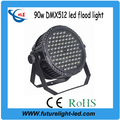 most powerful,long-distance,90w dmx512 multi color led flood light
