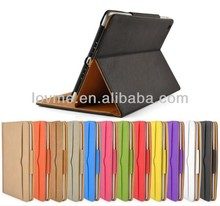 Leather Wallet Folio Case For iPad Air 2 Cover