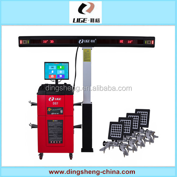 3D Software Control Four Wheel Aligner Visual Image 4 Wheel Alignemnt