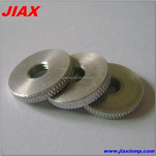 Good precise cnc machining knurling aluminum gasket