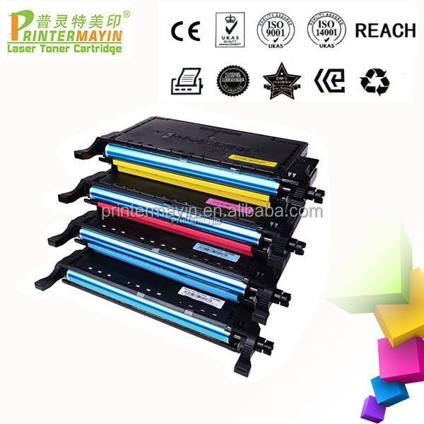 CLP-660A Color Laser Printer Toner for Samsung CLP610ND/660ND