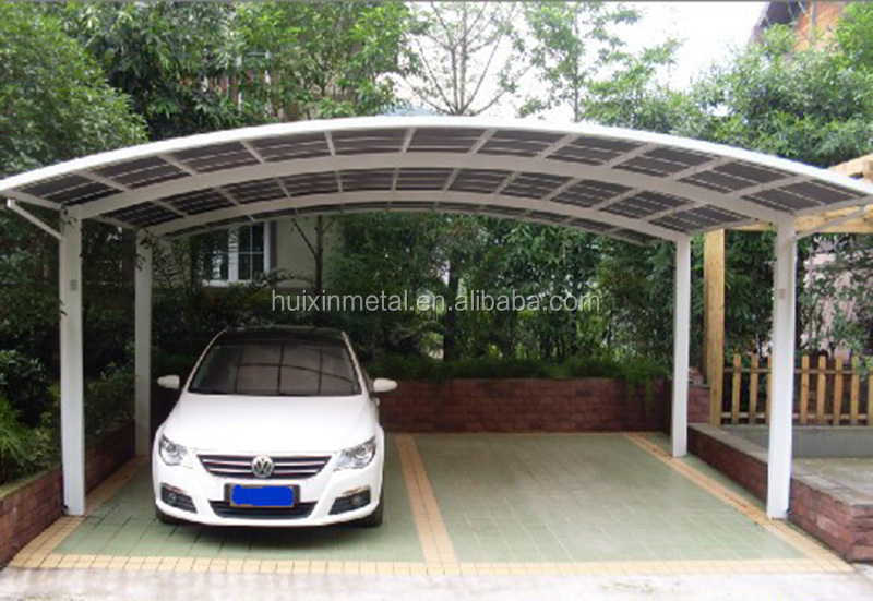New-style Solid Prefabricated Carport with all Aluminium Frame HX114