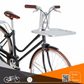 Classic women bike with storage rack handlebar vintage lady steel bicycle