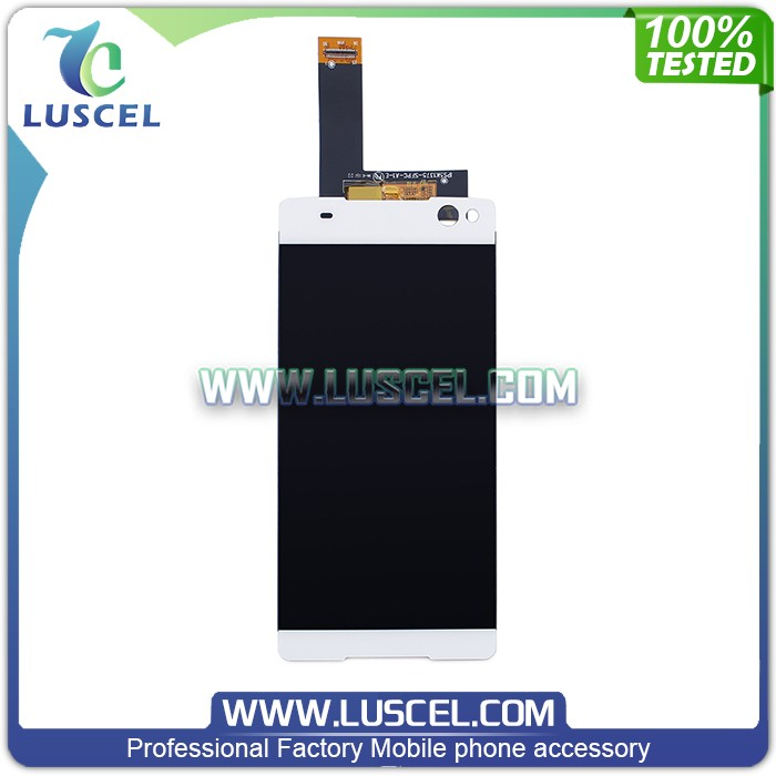 LC Factory directly supply LCd display screen digitizer for Sony ericsson for Xperia C5/C5 Ultra