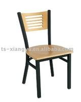 restaurant chair in metal