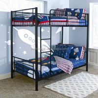 queen size best price folding metal double deck bed / bunk beds