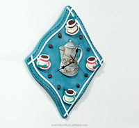 Custom Napkin resin antique 3d wall clock