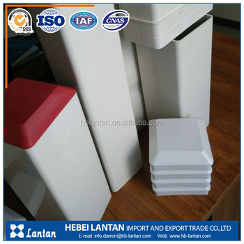 Large diameter plastic pvc square rectangular pipe for drainage and Warning pile
