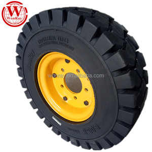 tire factory in china split wheel rims 4.00-8 6.50-10 7.00-12 solid forklift tires