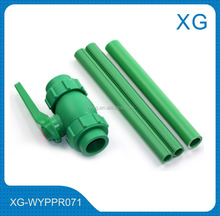 Hot and Cold water supply aluminium layer PPR combination pipe/plastic complex pipe for drainage water/PPR/AL/PPR tube