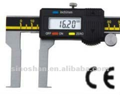 115-325-1 25-225mm New Type Big LCD Mechanical Slide Internal Groove Digital measuring instrument
